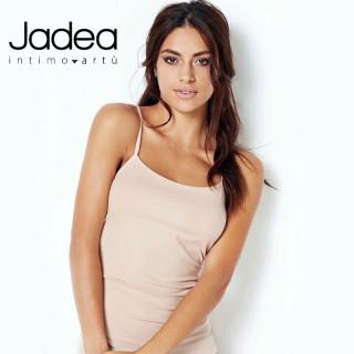 Jadea Top donna spalla stretta in cotone e modal elasticizzati Vari Colori